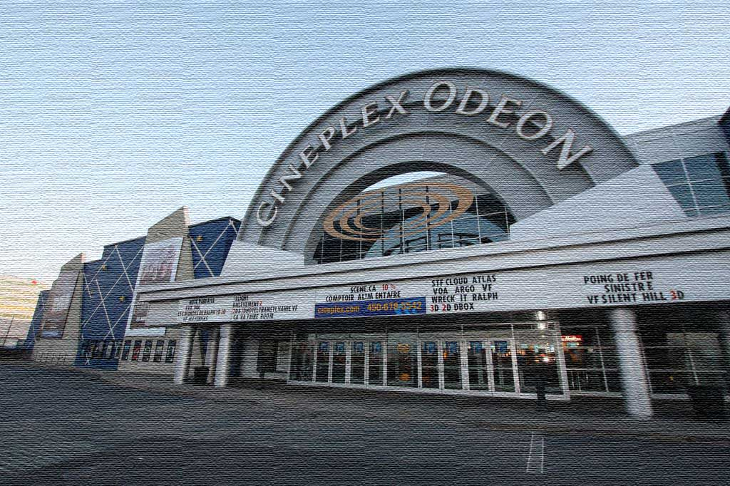 gicleurs cinéma Cineplex Odéon