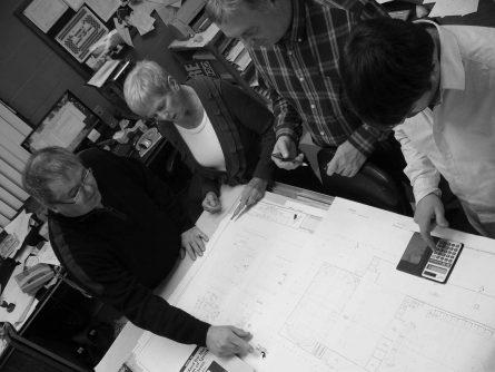 plan d'ingénierie pour système de gicleurs