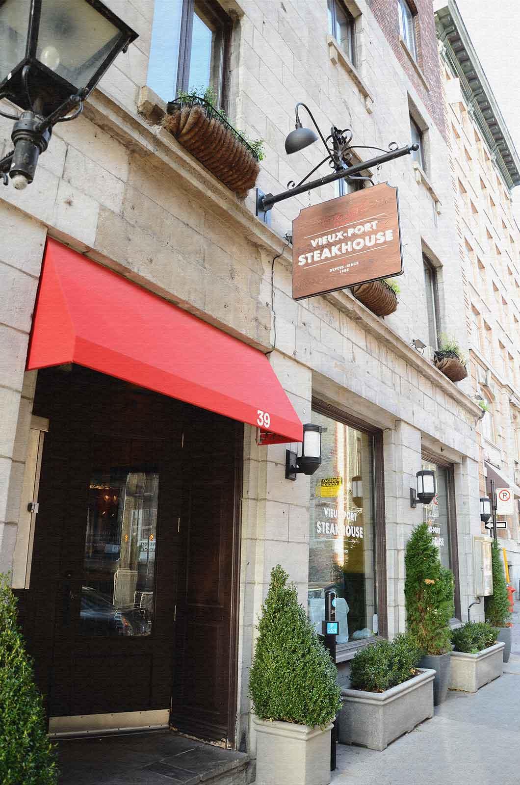 gicleurs restaurant Vieux-Port Steakhouse