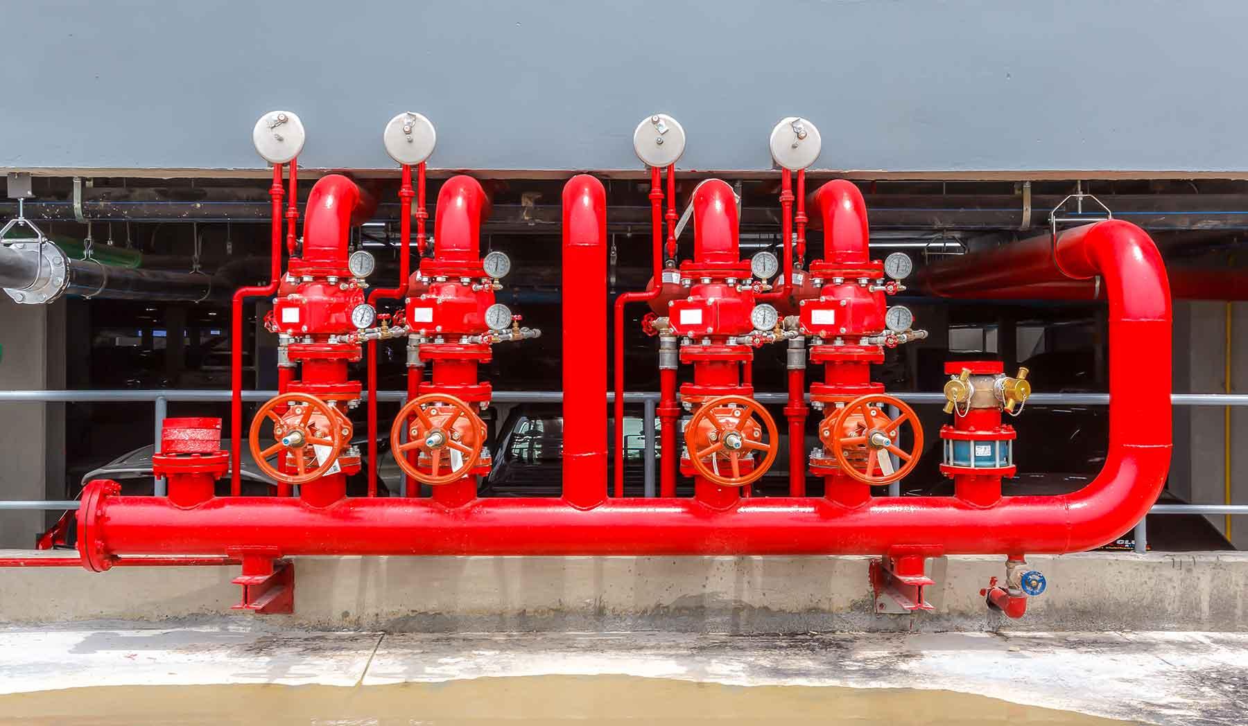 Système de protection incendie